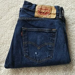 LEVI'S 501 BUTTONFLY JEANS